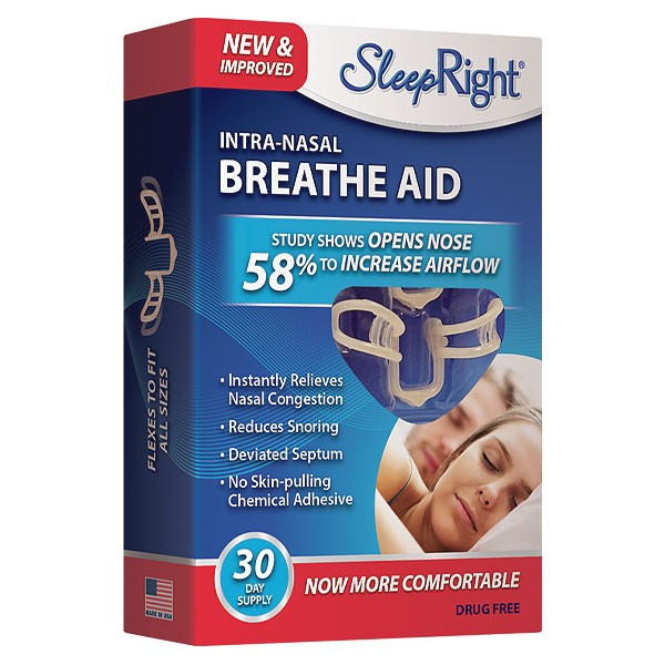 SleepRight Intra-Nasal Breathe Aid (30 Day Supply)