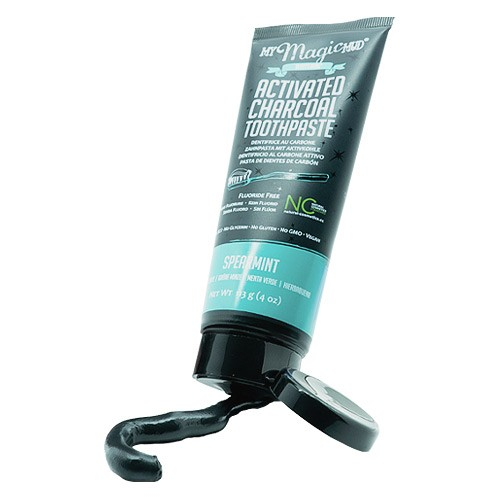 My Magic Mud Activated Charcoal Toothpaste - Spearmint
