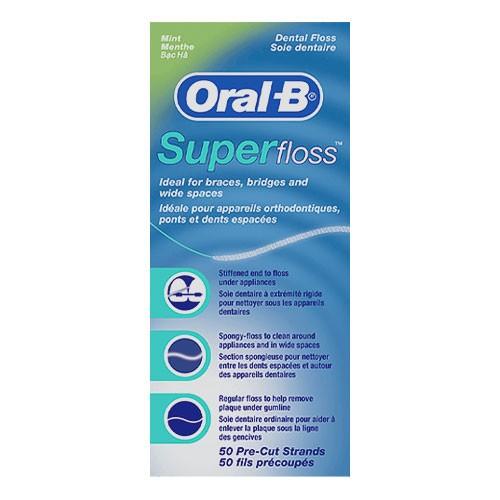 Oral B Super Floss (50 strands)