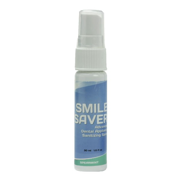 Soluria Smile Saver Dental Appliance Sanitizing Spray (1oz)