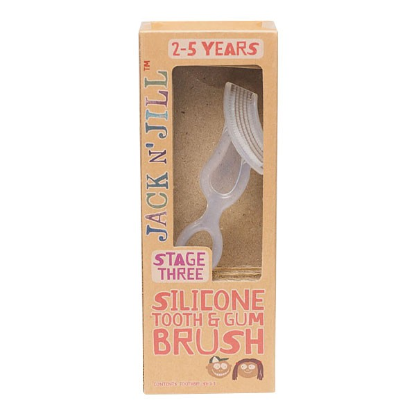 Jack N' Jill Kids Tooth & Gum Brush - Stage 3 (2 to 5 years)