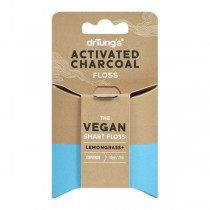 DrTungs Activated Charcoal Smart Floss (30yd)