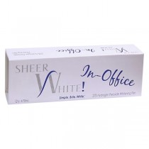 Sheer White! Professional In-Office Teeth Whitening Strips (4pk)
