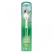 TropiClean Fresh Breath Triple Flex Toothbrush for Dogs