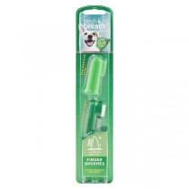 TropiClean Fresh Breath Finger Brushes for Dogs (2ct)