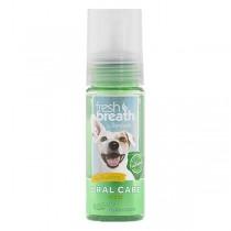 TropiClean Fresh Breath Oral Care Foam for Dogs (4.5oz)