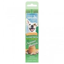 TropiClean Fresh Breath Clean Teeth Gel for Dogs - Peanut Butter (2oz)