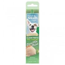 TropiClean Fresh Breath Clean Teeth Gel for Dogs - Vanilla Mint (2oz)