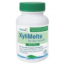 OraCoat XyliMelts for Dry Mouth - Mint Free - BOTTLE (120ct)