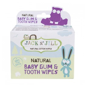 Jack N' Jill Natural Baby Gum & Tooth Wipes (25ct)
