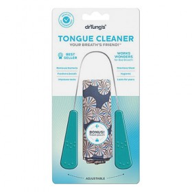 DrTungs Stainless Steel Tongue Cleaner