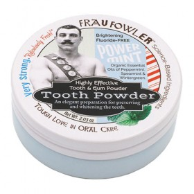 Frau Fowler Power Mint Tooth and Gum Powder (2.03oz)