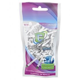 GumChucks ORTHOgami Flossing Tips Refill (36ct)