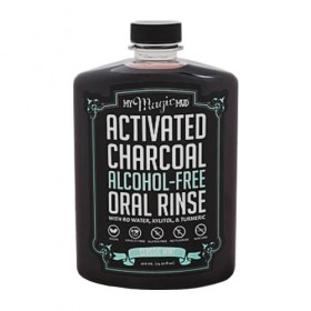 My Magic Mud Activated Charcoal Mint Oral Rinse (14.2oz)