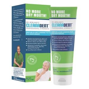 Dr. Berland's Cleanadent Denture & Gum Cleansing Paste (4oz)
