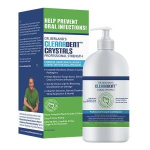 Dr. Berland's Cleanadent Crystals Liquid Soak Cleanser (12oz)