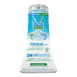 SmartMouth Clinical DDS Activated Oral Rinse (16oz)