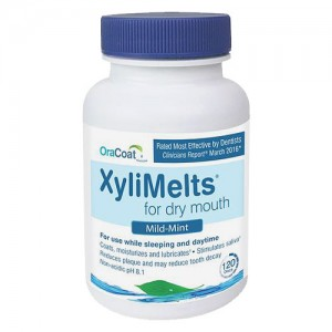 OraCoat XyliMelts for Dry Mouth - Regular Mint - BOTTLE (120ct)